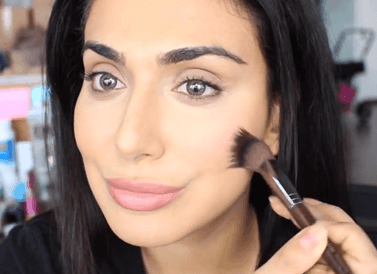 touch up you face with blush makeup tips