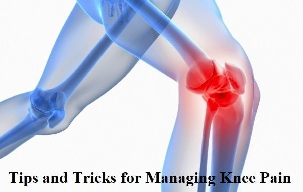 ways to manage knee pain
