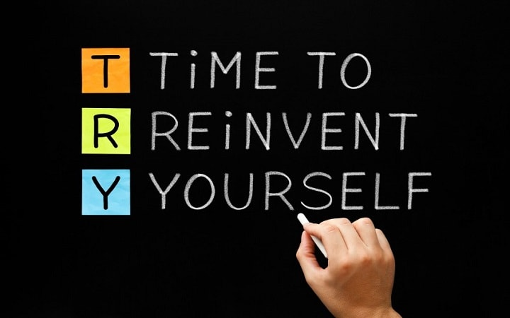 ways to reinvent yourself