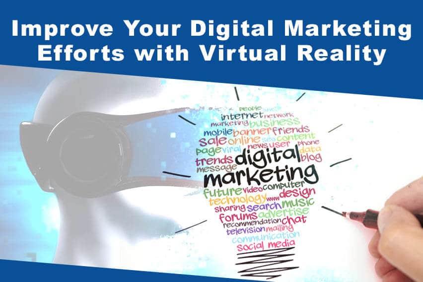digital marketing with virtual reality