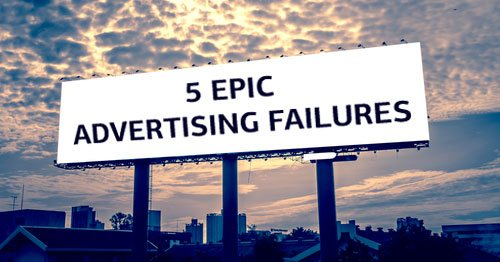 advertising failures