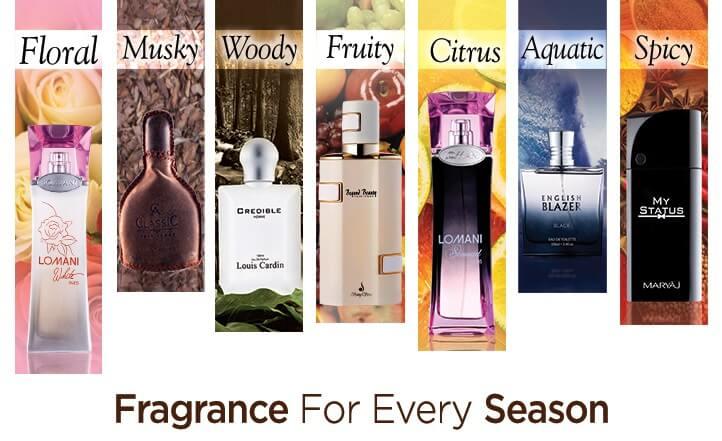 choosing a good perfume