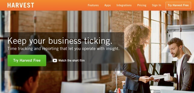 harvest accounting software