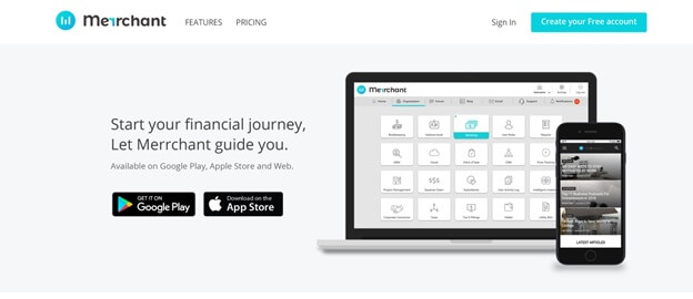 merrchant-business accounting software