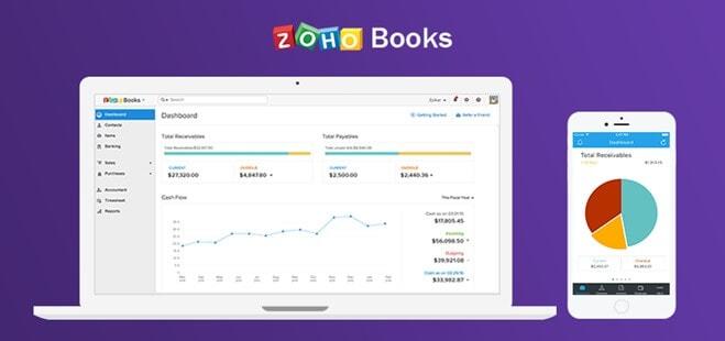 zoho books business accounting
