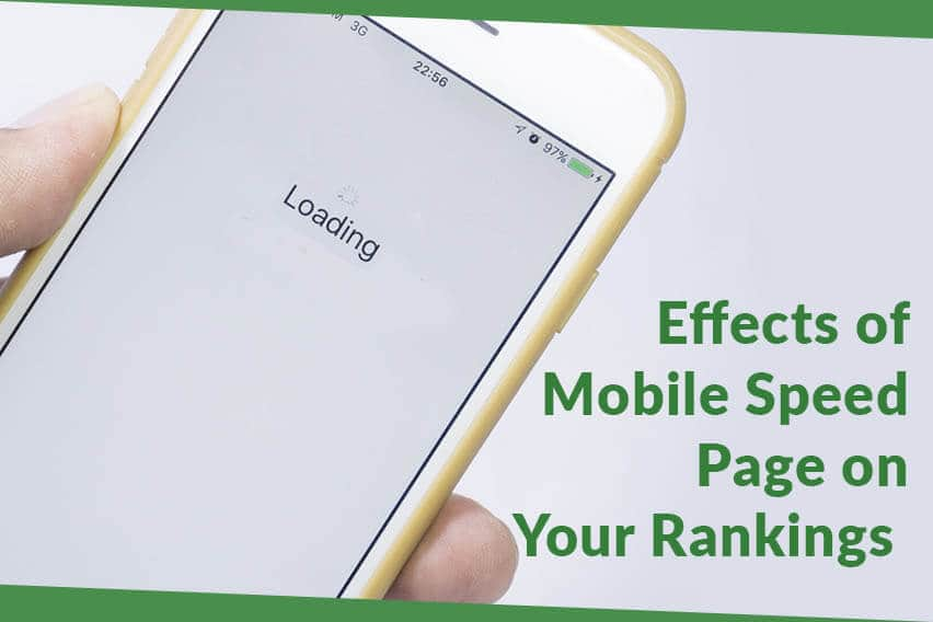mobile page speed on ranking