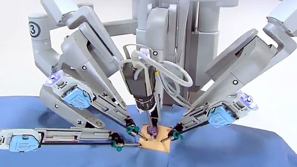 robots in healthcare industry