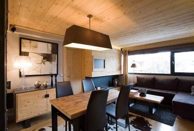 wood and natural elements