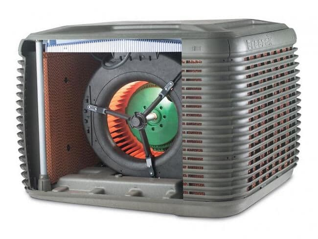 functions of the evaporative cooling system