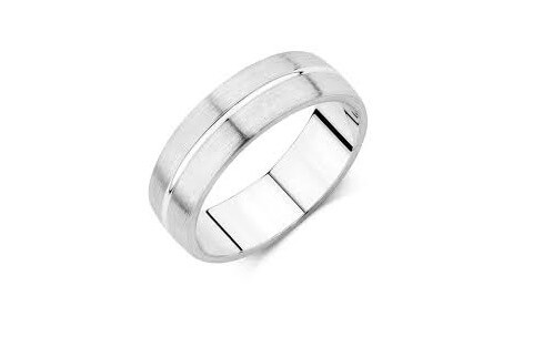 white gold wedding bands mens