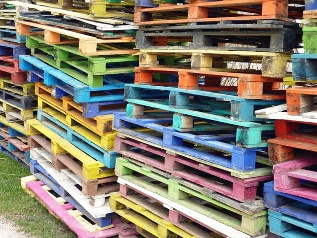 benefits of second hand pallets