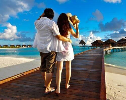 honeymoon tour package