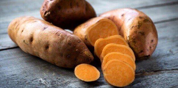 sweet potato fat burning vegetables