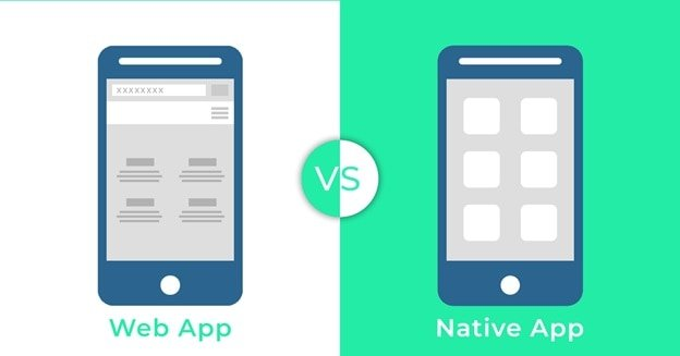 web app vs native app