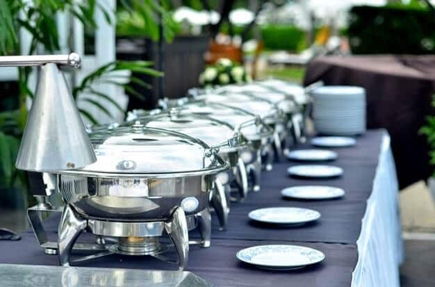 wedding buffet catering services
