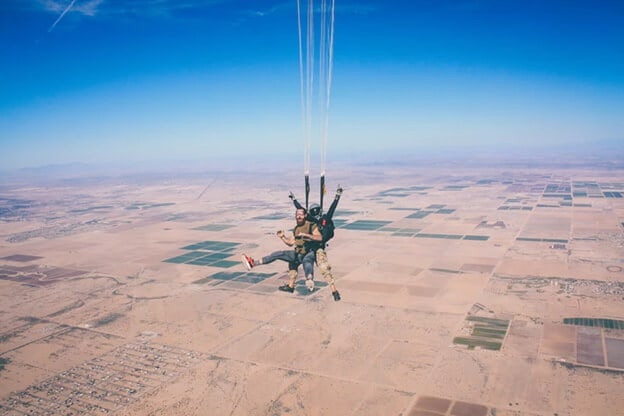 beauty tips for skydivers