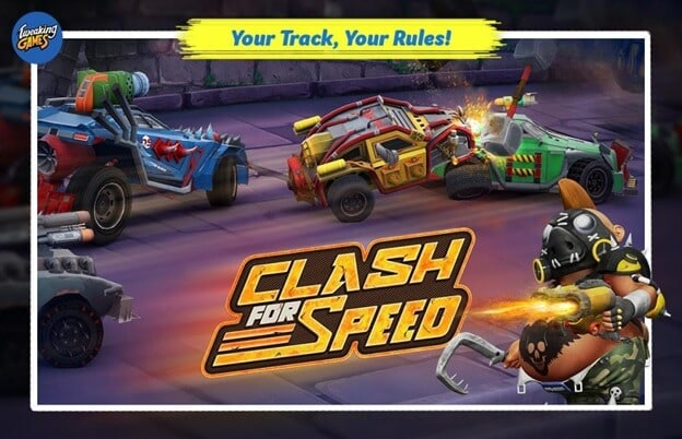 clash for speed 3d car racing games