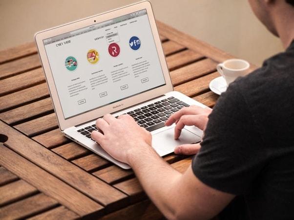 design your business website