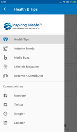 inspiringmeme navigation menu