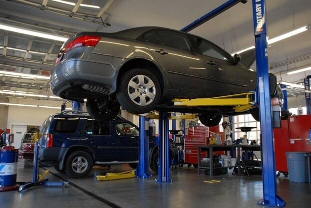 reusing auto parts