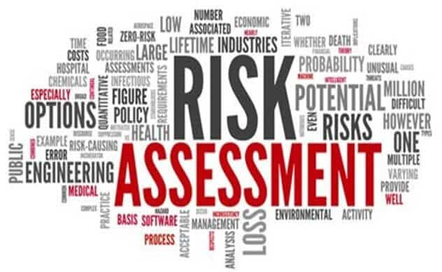 risks assessment at workplace