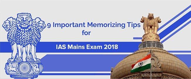 ias main exam preparation tips