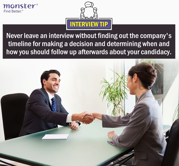 job interview tips and tricks