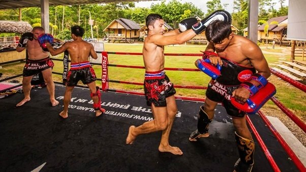 muay thai boxing camp