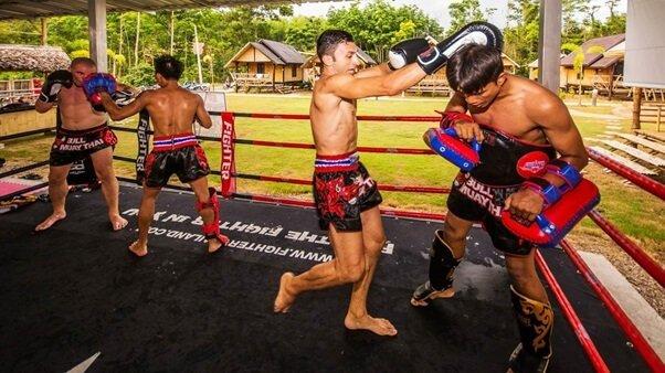 muay thai boxing camp