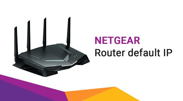 netgear router default ip