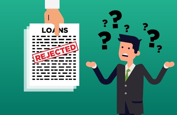 reasons for personal loan rejection
