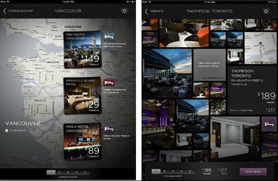 hotel tonight travel mobile app