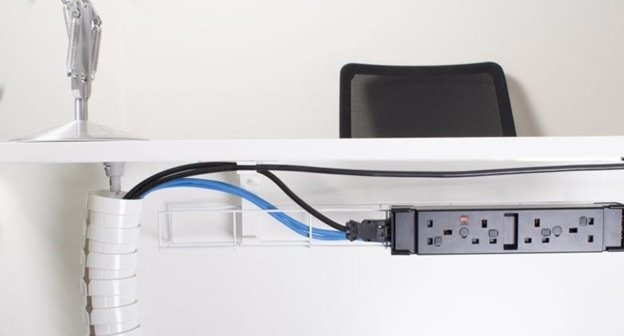 installation electrical outlets in office