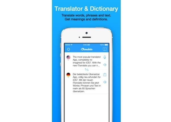 itranslate mobile app