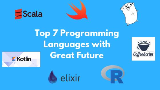 top programming languages of future