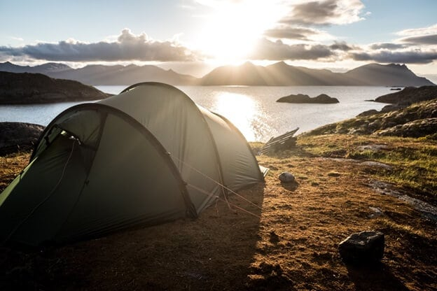 health benefits of camping
