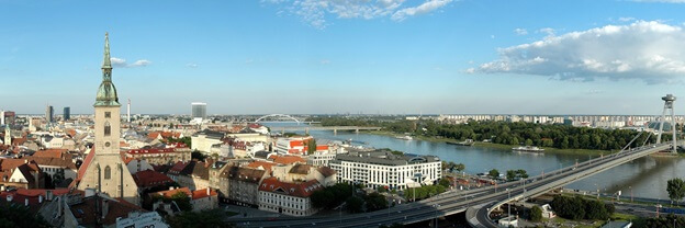 weekends in bratislava
