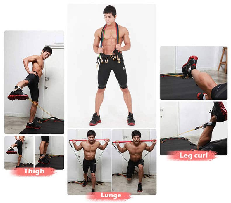 best resistance bands for building muscle