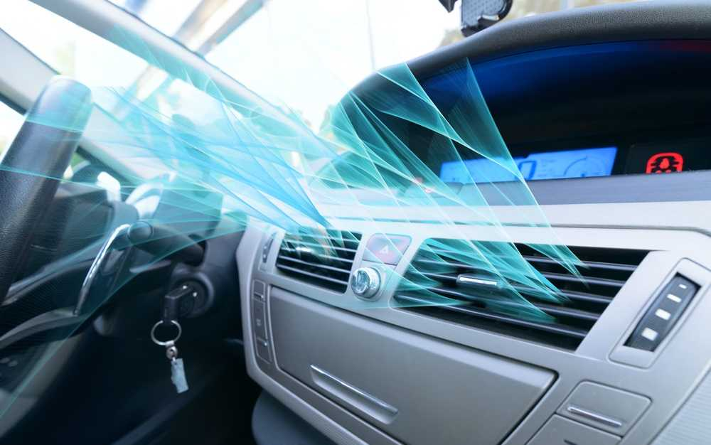 air conditioning system in car