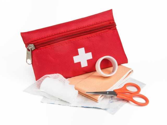 first aid kits