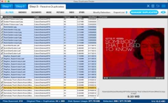 easy duplicate finder tool