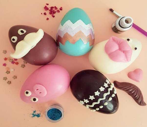 egg shaped chocolates