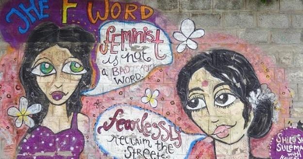 graffiti in bangalore