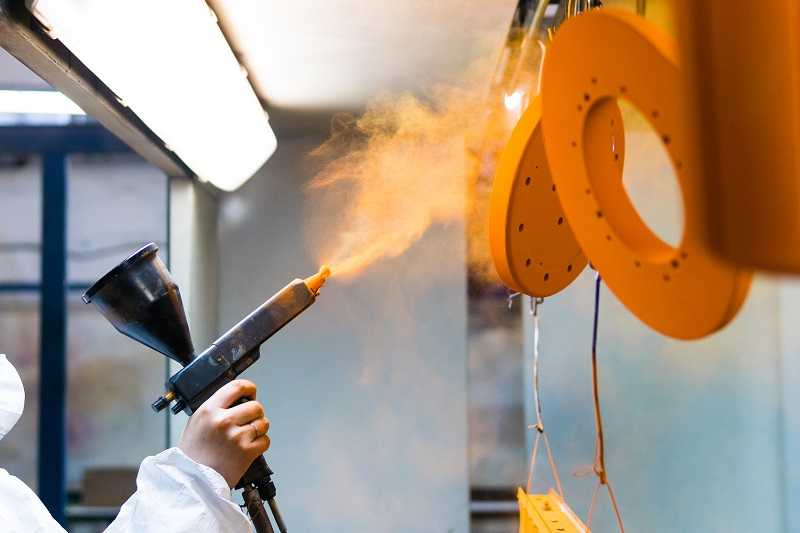 powder coating advantages