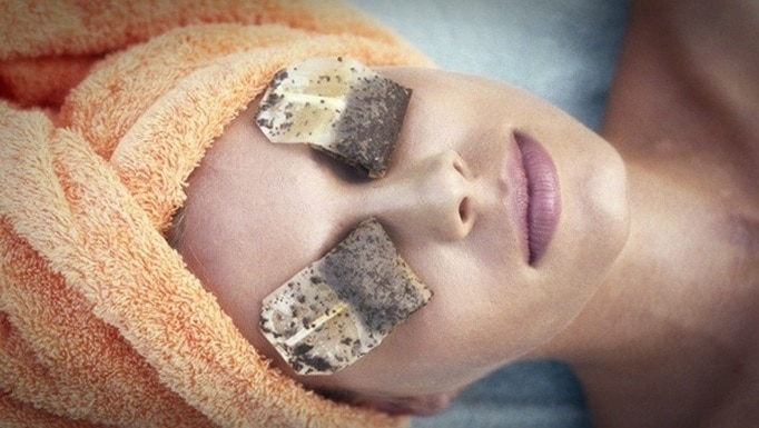 chilled tea bags for eyes