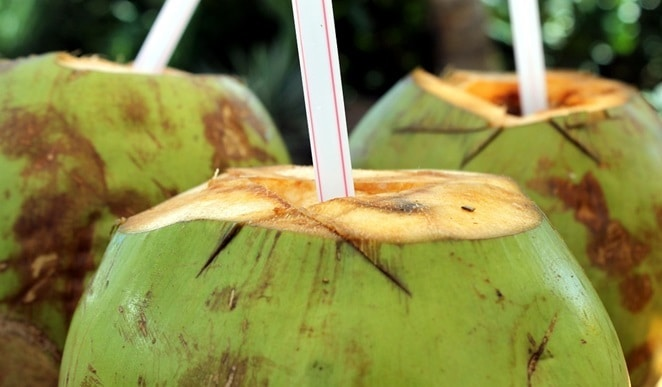 coconut water for skin
