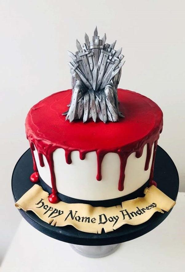 name day cake