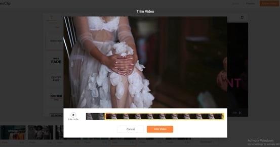 video editing tool step 4