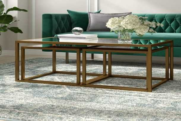 stylish coffee table