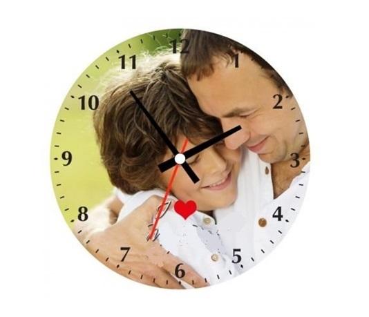 personalized photo clock birthday gift